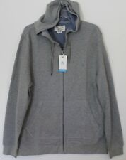 PENGUIN BY MUNSINGWEAR Mens Gray Thermal Hoodie Sweat Jacket NEW $89 Size L
