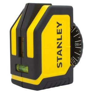 Stanley Laser Level Manual Wall Line Generator Construction Leveling Tool 10 Ft