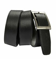 Men's Formal Black Belt with Free Shipping