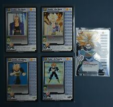 DragonBall Z Trunks Personality set LV1-4+HT Cell Saga Collectible Card Game