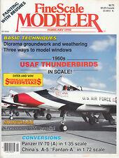 "FINESCALE MODELER 2/90 PANZER IV/70, USAF THUNDERBIRDS, CHINA'S A-5 ""FANTAN-A"""