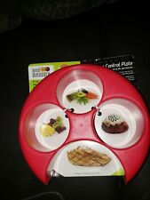 Food Control Meal Measure Plate Weight Loss Diet Portion Healthy Eating Slim H