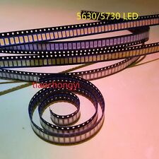 500PCS SMD SMT 5630 5730 Cool White Warm white Red Green Blue  LED