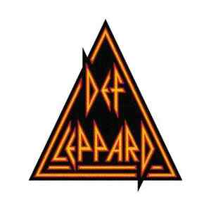 """DEF LEPPARD - """"LOGO"""" CUT OUT - WOVEN SEW ON PATCH"""