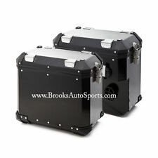 Pannier System Black (Left + Right Bags) For R1200GS 2004-2012