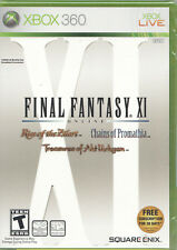 Video Game - Xbox 360 FINAL FANTASY XI - Factory Sealed