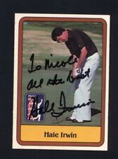 1981 Donruss Golf #38 Hale Irwin Signed Autographed Card JC LOA *533307