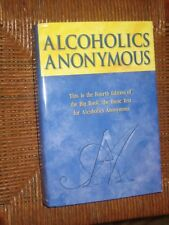 Alcoholics Anonymous 2001 HC AA BIG BOOK TRADE EDITION SELF HELP NEW FREE SHIP