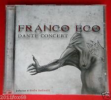 cd franco eco dante concert caronte paolo e francesca ulisse giulio andreotti gq