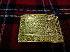 TC Men's Kilt Belt Buckle Celtic Knot Gold Plated/Celtic Knot Kilt Belt Buckle