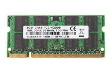 1GB 1 GB Kits SDRAM PC2-4200S DDR2-533 533Mhz 200pin CL4 Laptop Memory RAM @1H