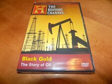 BLACK GOLD OIL Fuel Wars Petroleum OPEC Texas Oils Gas History Channel DVD NEW