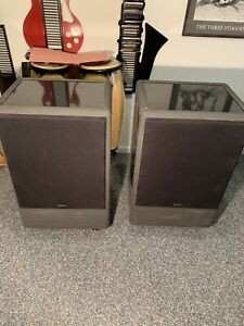 Rare Tannoy System 15 DMT II Stereo Monitor Speakers