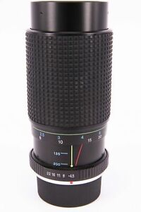 TOKINA RMC 80-200mm f/4.5 lens for Pentax PK PARTS ONLY