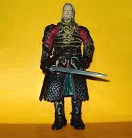 El Señor de los Anillos. Figura de THÉODEN Rey de ROHAN. Lord of the Rings. LOTR