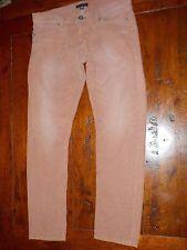 BANANA REPUBLIC BOYFRIEND Cords Pink 28R skinny low slim ankle slouch 34x30