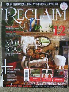 Reclaim magazine November 2017 Issue 20 Urban Eco Photography Salvage Suppliers