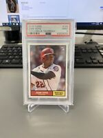 2018 Topps Throwback Thursday #184 Juan Soto RC SP PSA 9 Mint Rookie Card