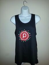 "Pure Barre (""P"" LOGO XMAS LIGHTS) BLOCK LETTERS TANK Top - Size XS"