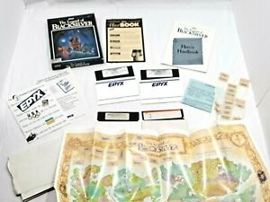 The Legend of Blacksilver Commodore 64 128 COMPLETE w/ Map Manual Box TESTED