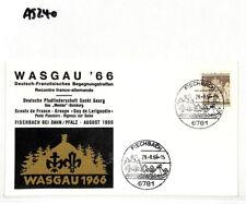 1966 Germany Berlin Scouts WASGAU Commemorative Cover AJ240