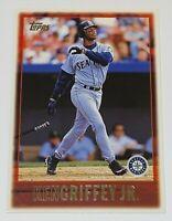 1997 Topps Jumbos Ken Griffey Jr. #2 MLB Seattle Mariners Baseball Card