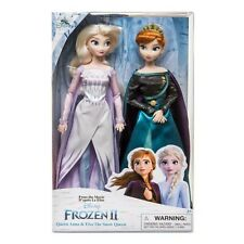 Disney  Anna & Elsa Classic Doll Set of 2 30cm Action Figure Boxed