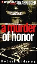 5 CASSETTE AUDIO BOOK A MURDER OF HONOR ROBERT ANDREWS New, Free Shipping