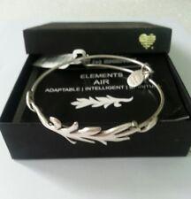 ALEX and ANI ELEMENTS AIR Charm Bracelet BANGLE WRAP NWT W/BOX Vintage RARE