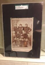 Rare1894Football Cabinet Card West Virginia WVU Mountsineers Antique Vintage Old