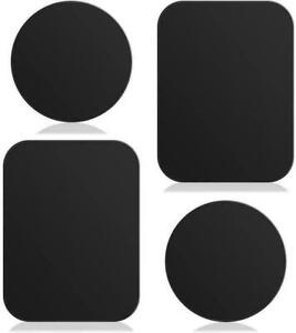 Magnetic Car Phone Holder Replacement Plates Mobile Spare Metal Plate Sticky Pad
