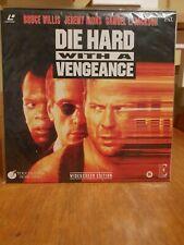 Laserdisc Die Hard III Widescreen Dolby Surround Pal englisch sehr selten!
