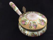 "Antique Victorian Powder Bowl 5.5"" Dia."