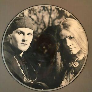 "DEATH IN JUNE Born Again 1988 vinyl 12"" MAXI-SINGLE PICTURE DISC UK Insert NM"