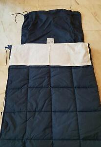 Sac de couchage militaire + 2 draps neufs intérieur + oreiller Armée Française