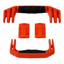New Pelican Orange 1510 / 1560 replacement latch (2) & handles (2) kits.