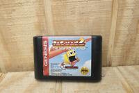 Vintage SEGA Genesis Pac-Man 2 The New Adventures Game Cartridge