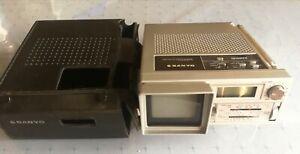 Vintage portable Tv/Radio/Clock