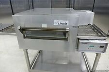 Lincoln 1132 Electric Conveyor Pizza Sandwich Oven Middleby Convection W/ Stand