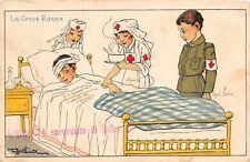 5903) WW1 LA CROCE ROSSA, BIMBI DI GOLIA VIAGGIATA NEL 1915.