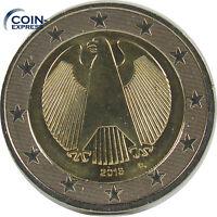 *** 2 EURO Münze Deutschland 2016 D München Euromünze KMS Kursmünze Germany ***