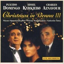 Plácido Domingo Christmas in Vienna III (1995, & Sissel Kyrkjebo, Charles.. [CD]