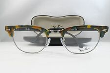 Ray-Ban RB 5154 5493 Clubmaster Tortoise New Authentic Eyeglasses 49mm w/Case