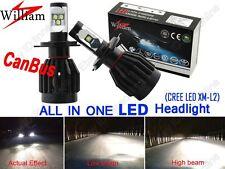 2x H4 9003 LED Headlights Hi/Lo High Power 80W Xenon White For AUDI Error Free