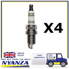 Bosch Spark Plug FQR8LEU2 X 4 for Alfa Romeo,Chevrolet,Fiat,Opel