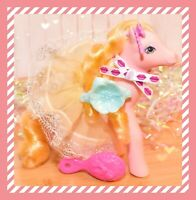 ❤️My Little Pony G1 Sweetheart Sister Prom Queen Pretty Belle & Skirt Barrette❤️