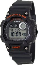 Casio W735H-8A Mens Gray Resin Digital Sports Watch Alarm Stopwatch 100M NEW