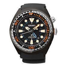 New Seiko SUN023 Prospex Kinetic GMT Black Dial Rubber Strap Men's Watch