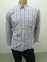 Camicia TOMMY HILFIGER Uomo Taglia Size L Shirt Man Chemise Homme Cotone 7841