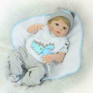 NPK 19'' 49cm Lifelike Reborn Baby Doll Silicone Realistic Newborn Boy Xmas Gift